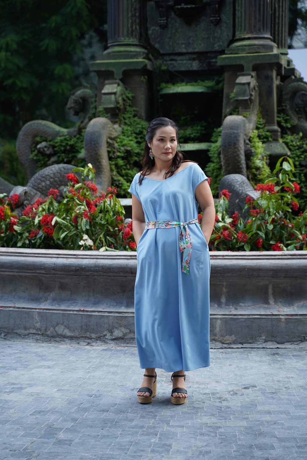 Hoi tho cuoc song trong BST 'Noi toi song' cua GenViet Jeans hinh anh 14