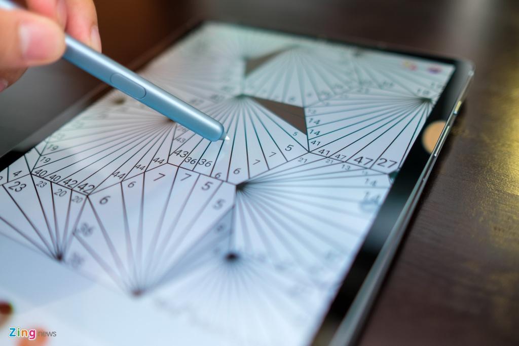 May tinh bang cao cap Samsung Galaxy Tab S6 anh 4