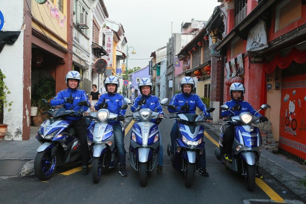 Hoan thanh 2.500 km, Yamaha chung minh xe tay ga khong chi de dao pho hinh anh 4