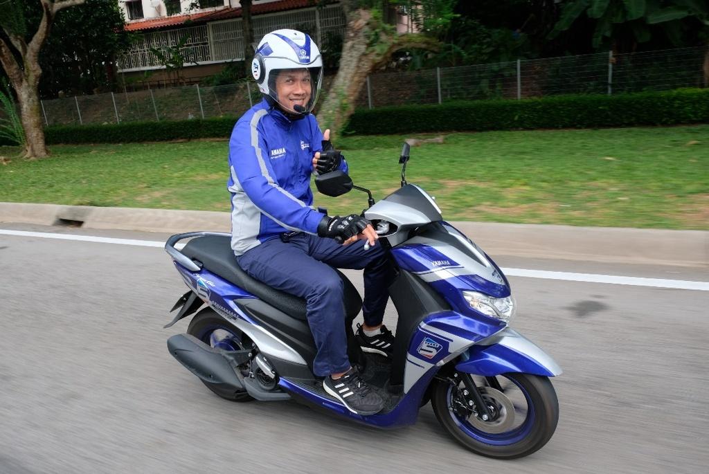 Hoan thanh 2.500 km, Yamaha chung minh xe tay ga khong chi de dao pho hinh anh 5