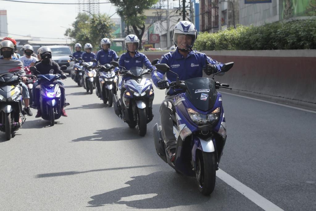 Hoan thanh 2.500 km, Yamaha chung minh xe tay ga khong chi de dao pho hinh anh 9