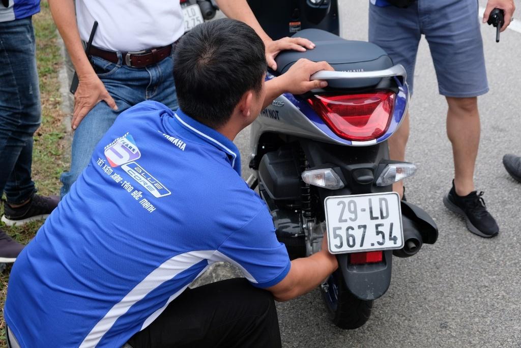 Hoan thanh 2.500 km, Yamaha chung minh xe tay ga khong chi de dao pho hinh anh 11