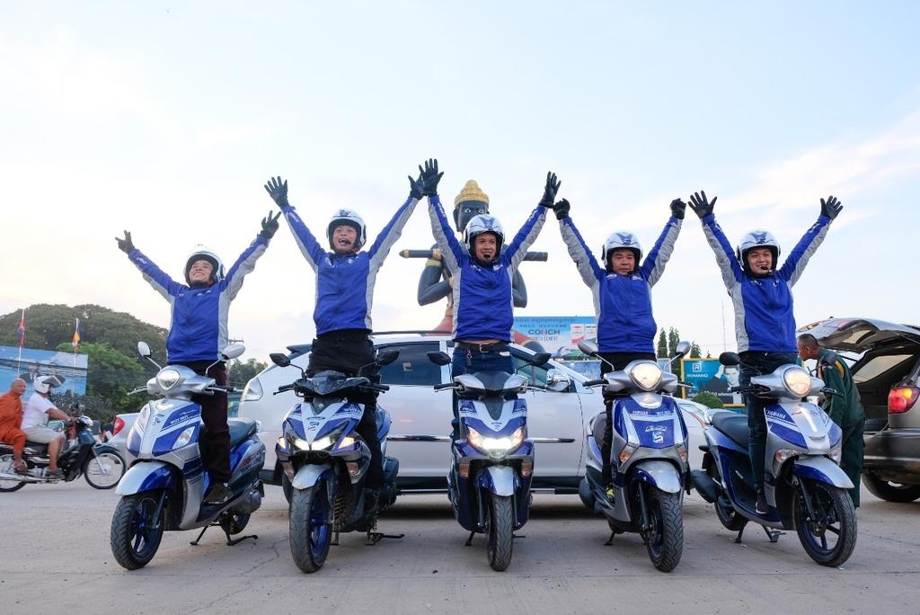 Hoan thanh 2.500 km, Yamaha chung minh xe tay ga khong chi de dao pho hinh anh 12