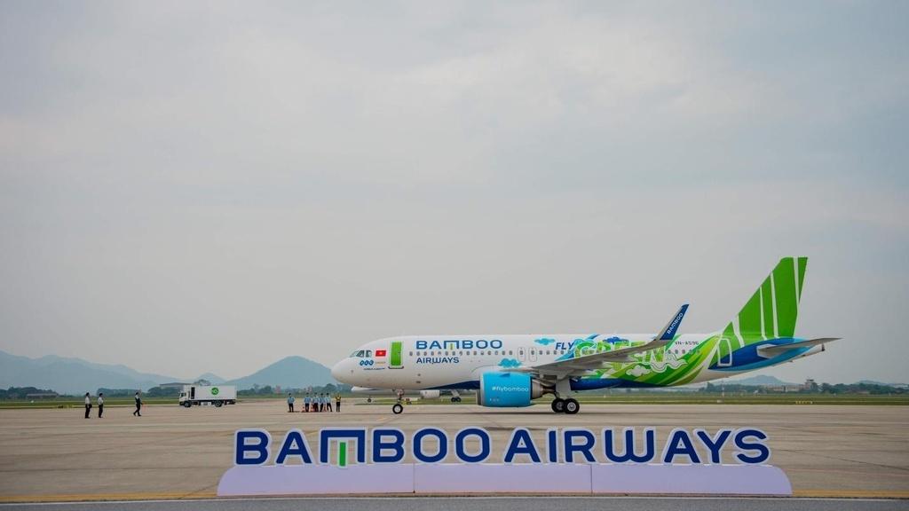 Bamboo don may bay Airbus A320neo dau tien mang 'ao' Fly Green hinh anh 3