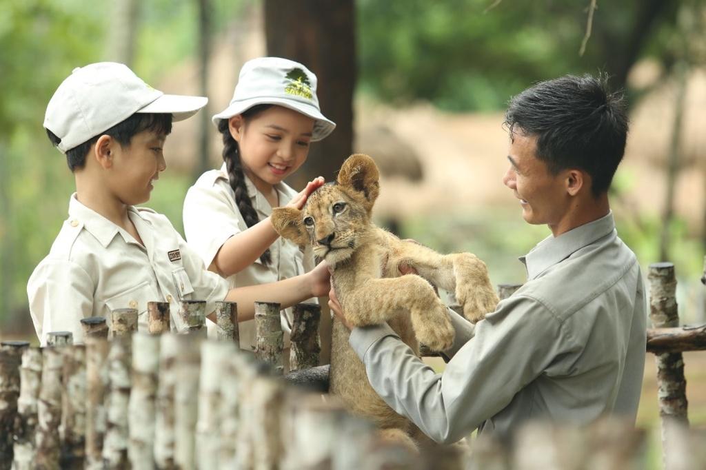 Vinpearl Safari dang cai to chuc hoi bao ton va phuc trang dong vat hinh anh 2  - A2 - Vinpearl Safari đăng cai tổ chức hội bảo tồn và phúc trạng động vật