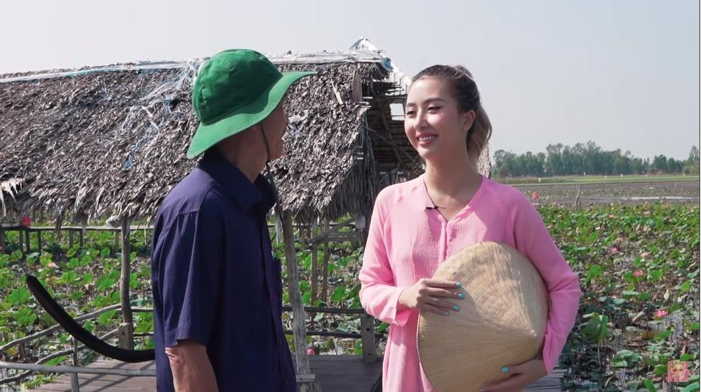 Quynh Anh Shyn tung vlog kham pha Dong Thap va Ha Long hinh anh 1 Hinh_video_2.49s.jpg