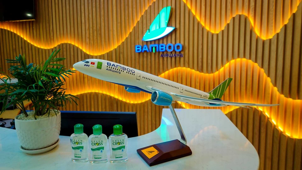 Bamboo Airways khai thac phong cho hang thuong gia tai san bay Noi Bai hinh anh 2 a002.JPG