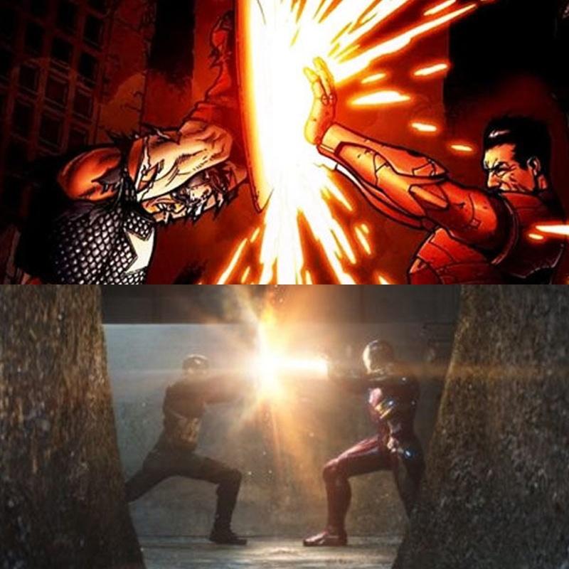 Nhung chi tiet thu vi an giau trong 'Captain America 3' hinh anh 16