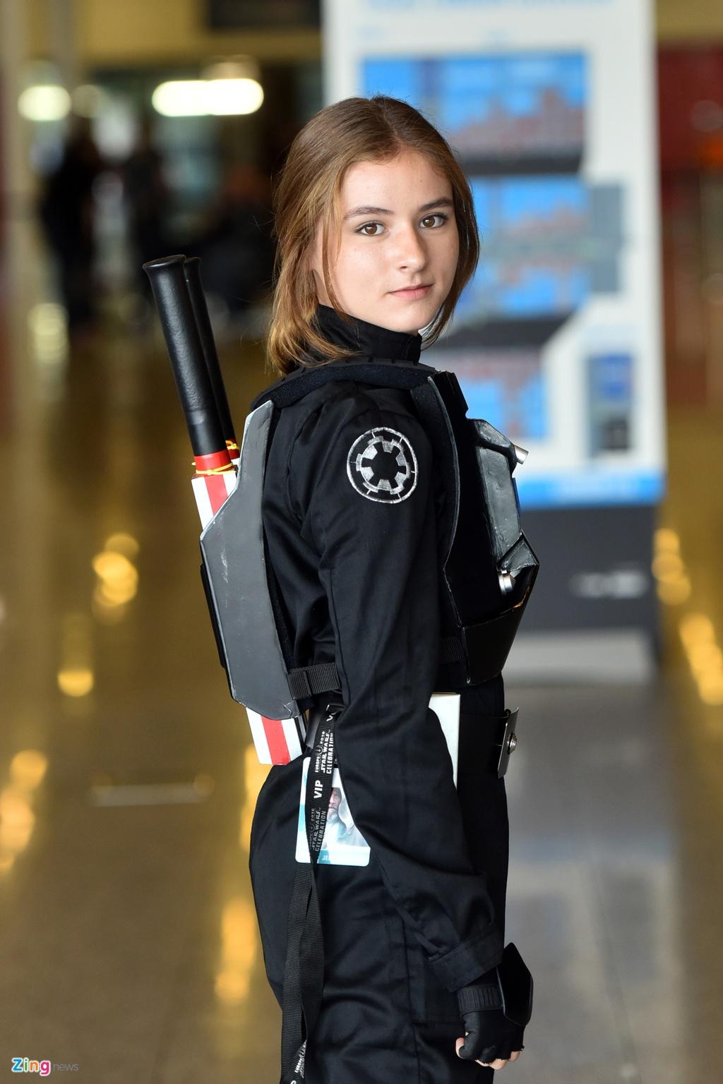 Van hoa cosplay cua nguoi phuong Tay qua 'Star Wars' hinh anh 15