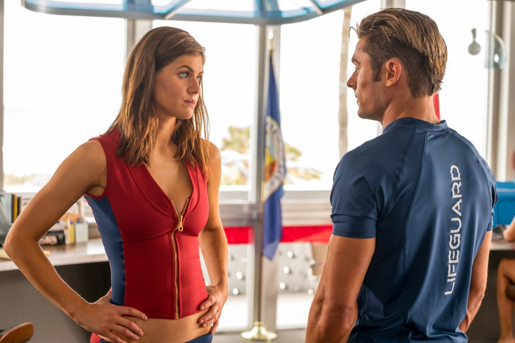 review phim Baywatch anh 2