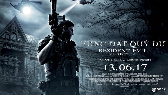 review phim Resident Evil Vendetta anh 1