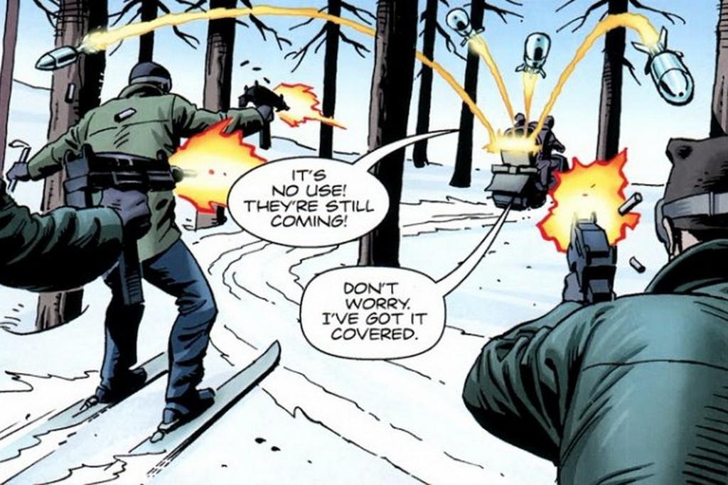 Nhung chi tiet thu vi trong bom tan 'Kingsman 2' hinh anh 5