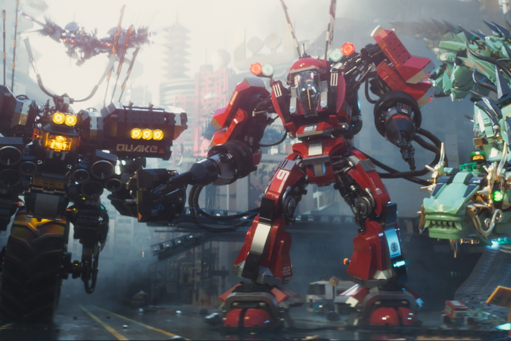 'The LEGO Ninjago Movie': Su ket hop thu vi giua ninja va robot