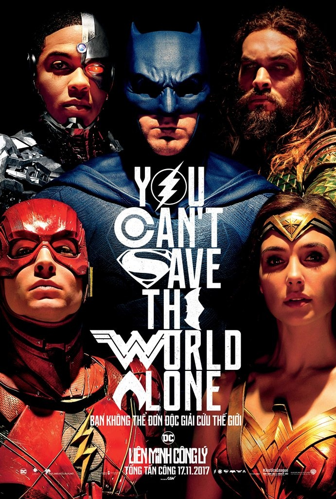 review phim Justice League anh 1