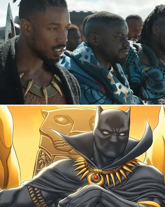 Loat chi tiet thu vi khan gia co the bo qua trong 'Black Panther' hinh anh 8