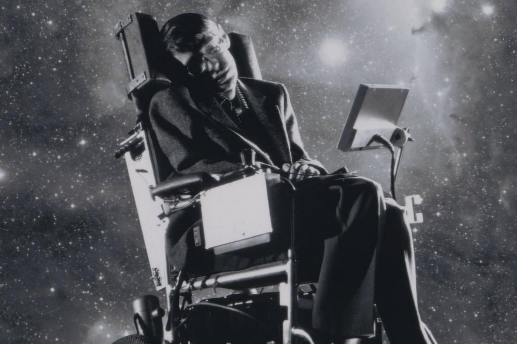 Hinh anh thien tai khoa hoc Stephen Hawking tren man bac hinh anh 2