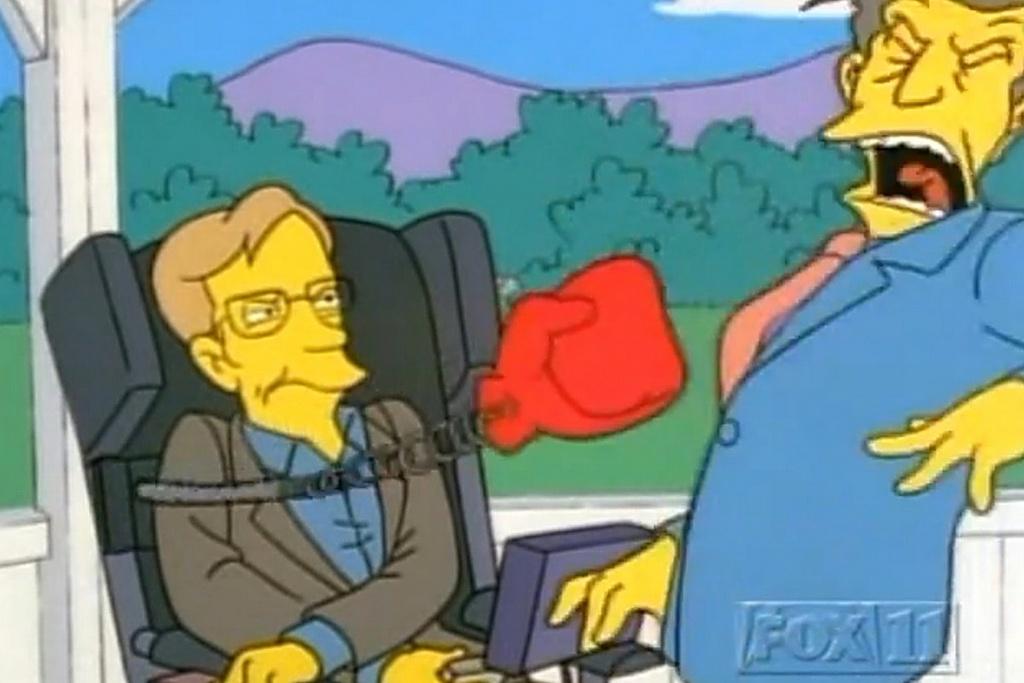 Hinh anh thien tai khoa hoc Stephen Hawking tren man bac hinh anh 6