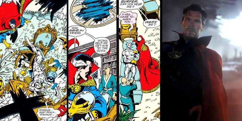 Loat chi tiet thu vi trong bom tan 'Avengers: Infinity War' hinh anh 2