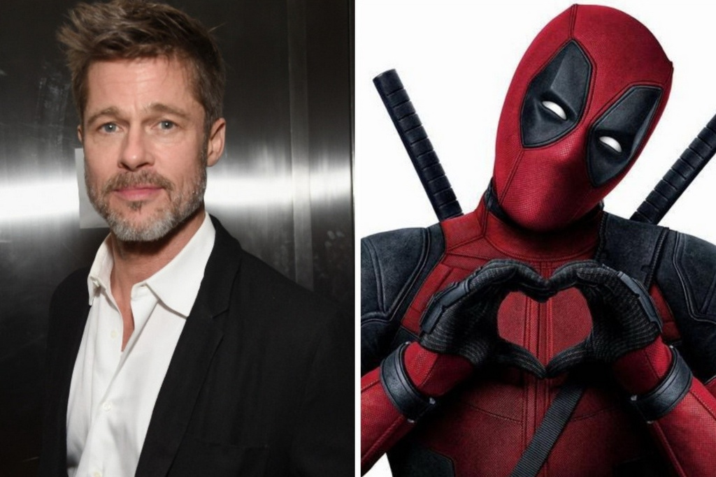 Brad Pitt trong Deadpool 2 anh 1