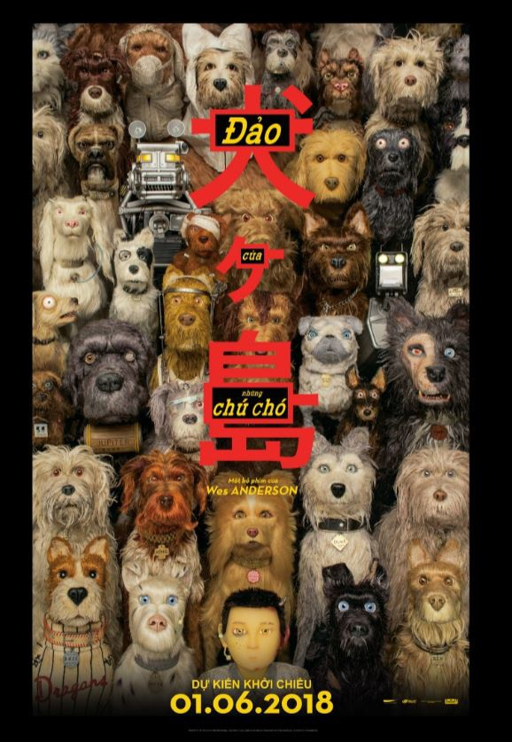 review phim Isle of Dogs anh 1
