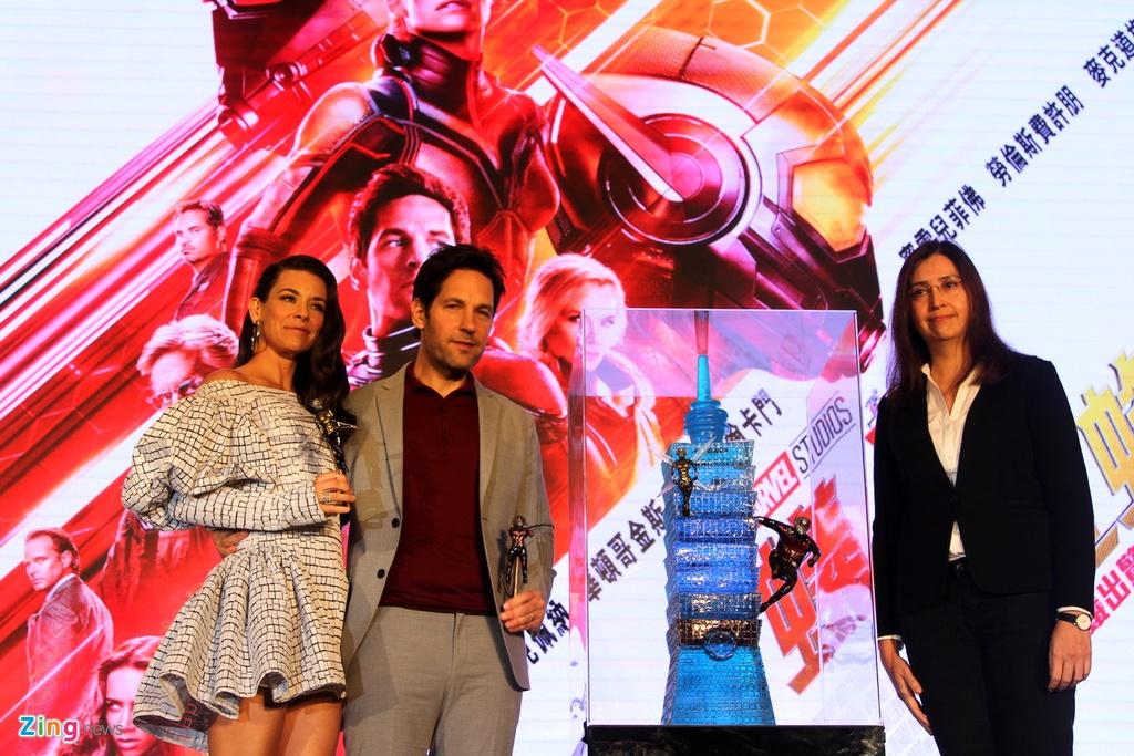 'Nguoi Kien va Chien binh Ong' cua Marvel lan dau ra mat bao chi hinh anh 6