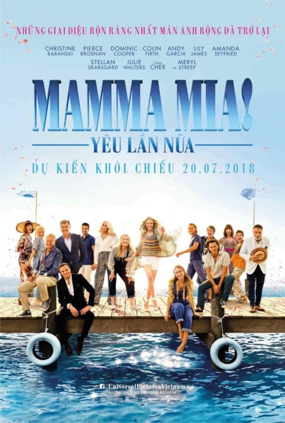 'Mamma Mia! 2': Hay yeu nhu chua tung yeu hinh anh 1