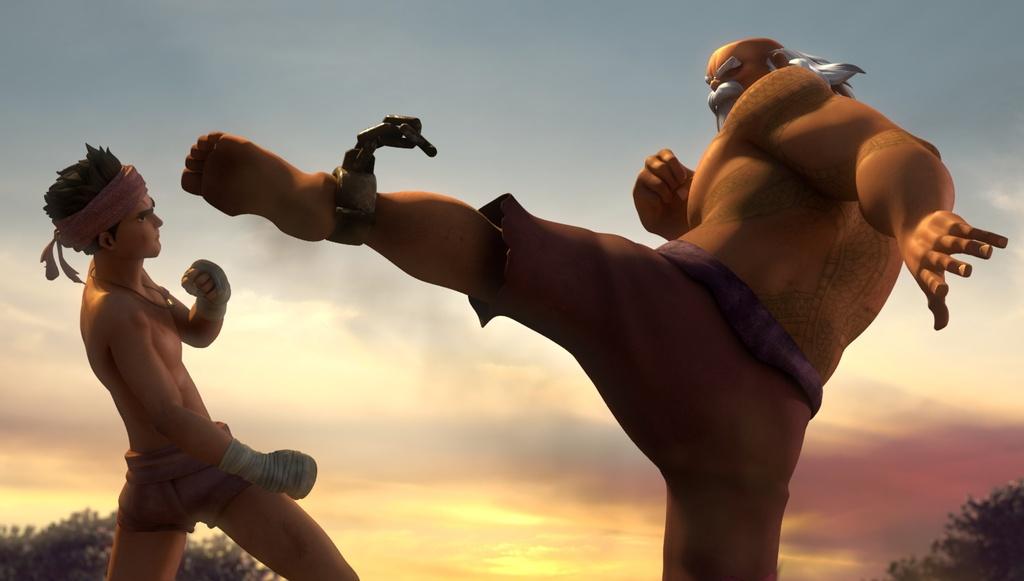 review phim Huyen thoai Muay Thai anh 2