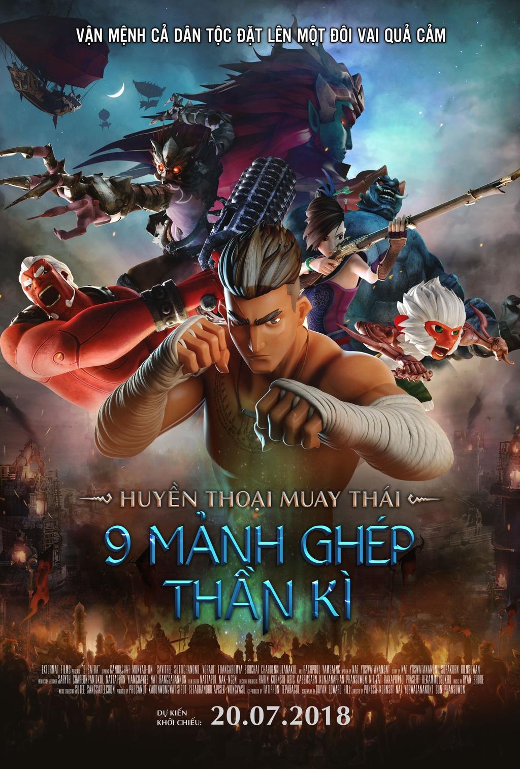 review phim Huyen thoai Muay Thai anh 1