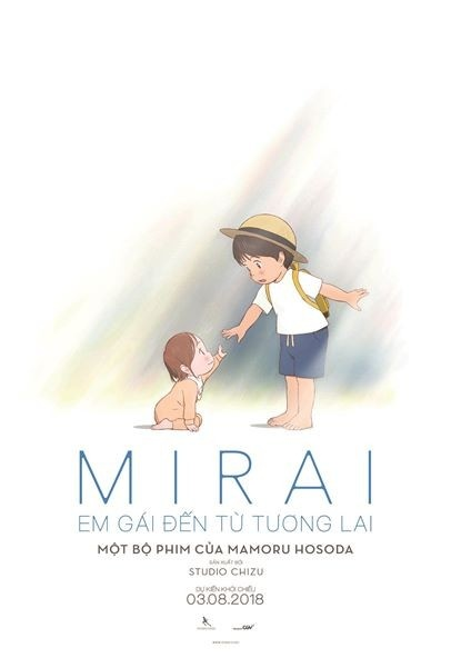 review phim Mirai Em gai den tu tuong lai anh 1