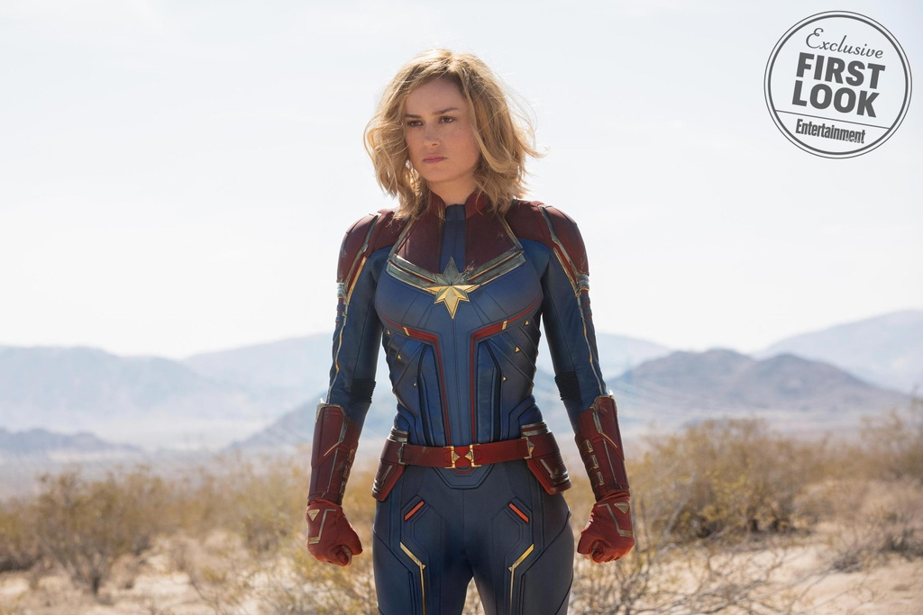 Sieu anh hung Captain Marvel chinh thuc lo dien hinh anh 1