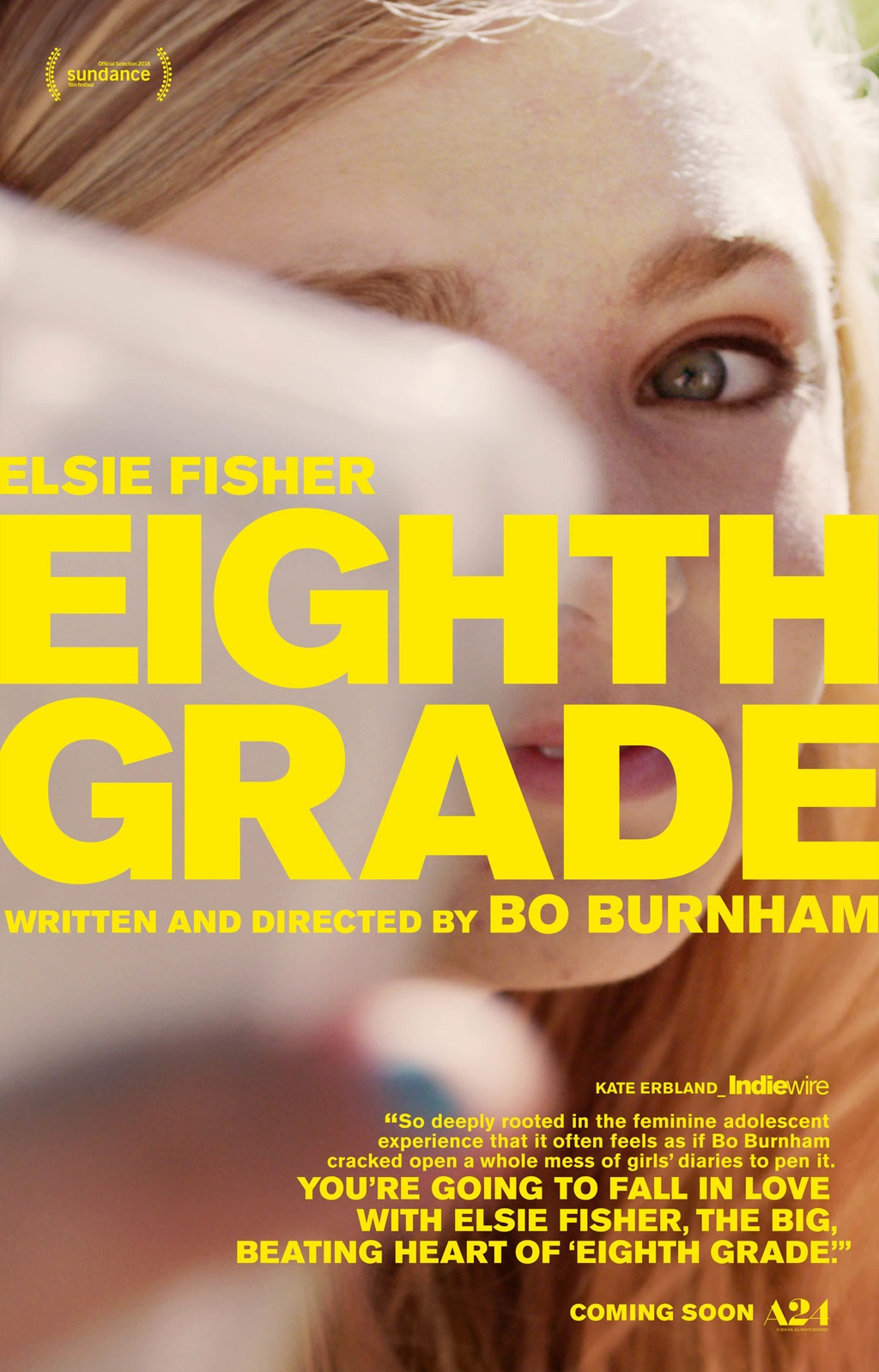 'Eighth Grade': Chan dung sinh dong ve the he Z tai My hinh anh 1