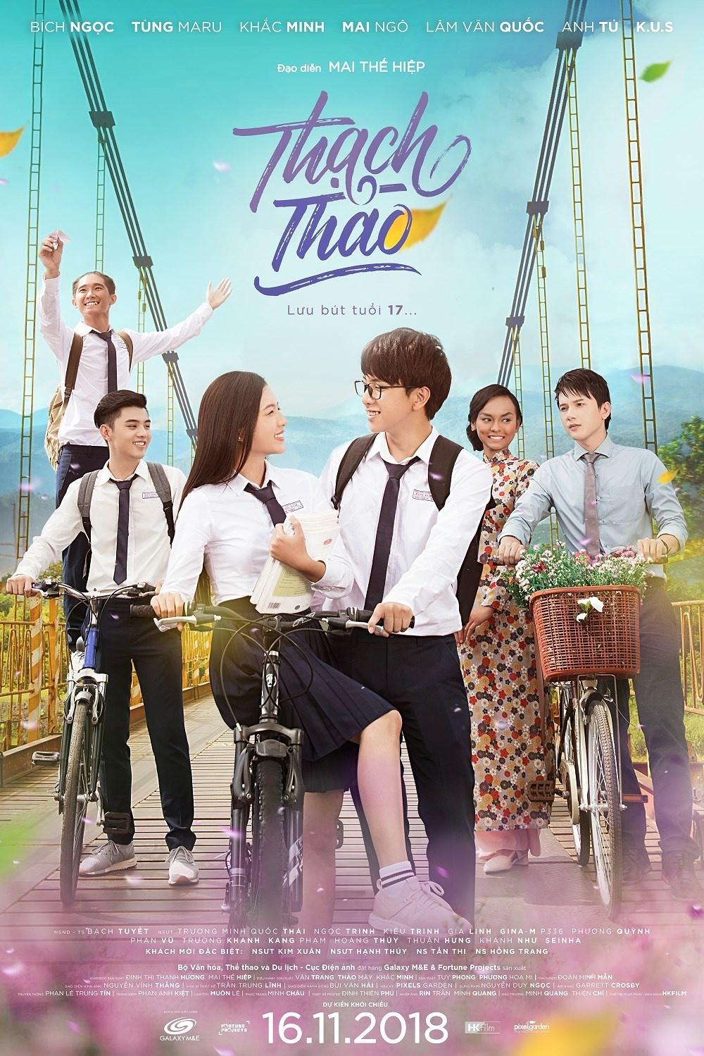 \u0027Thạch Thảo\u0027 - câu chuyện tình học trò đáng yêu của điện ảnh Việt