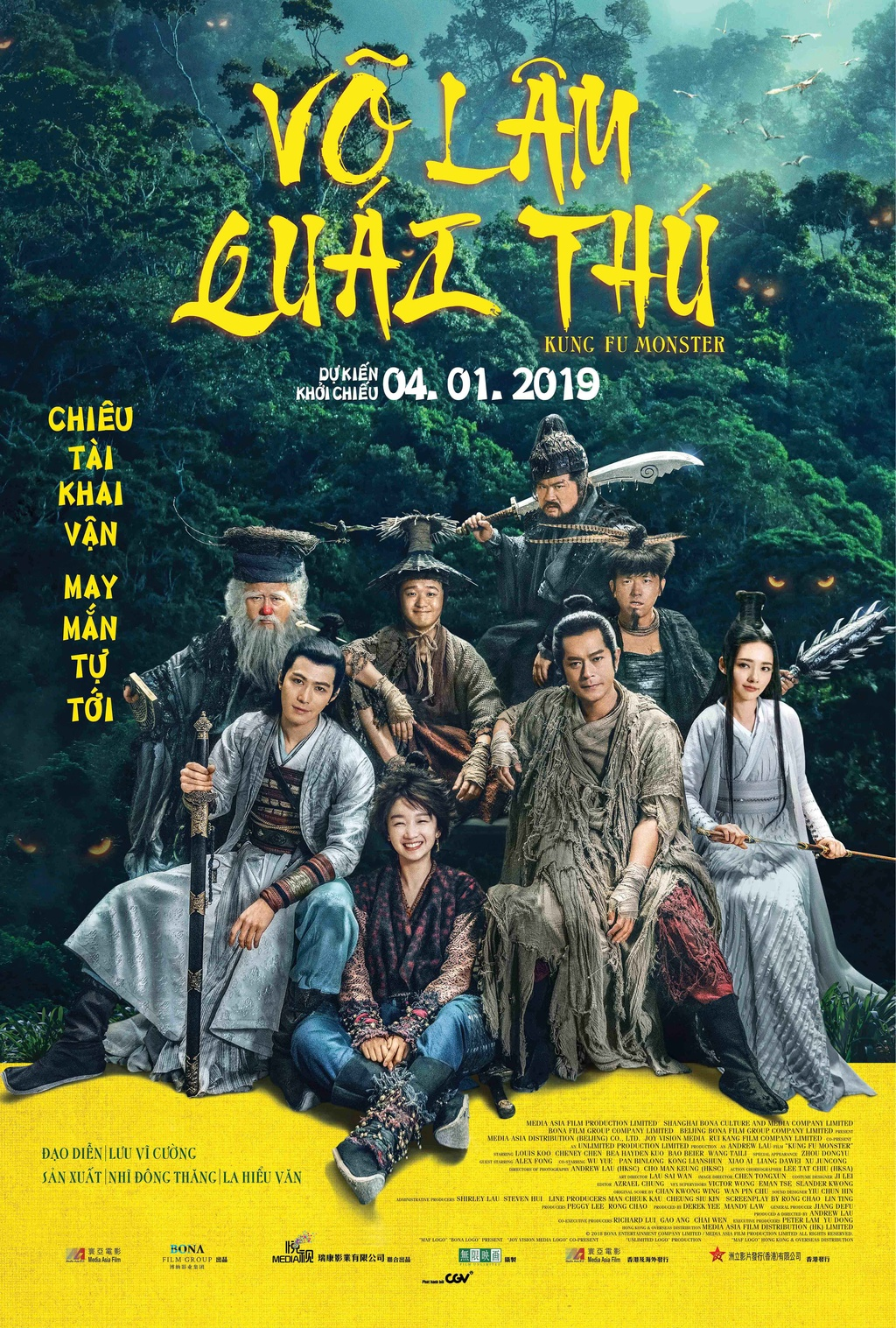 'Vo lam quai thu': Khi Co Thien Lac va Chau Dong Vu dong hai nham hinh anh 1
