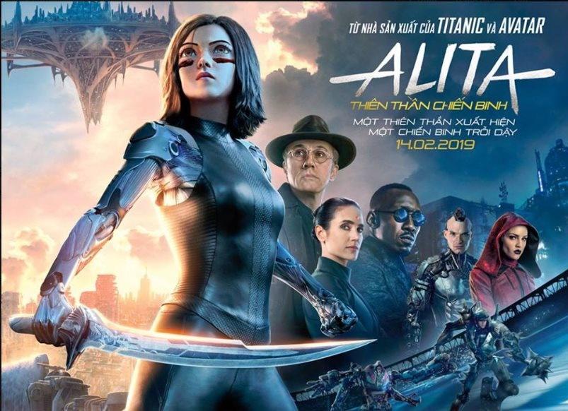 review phim Alita anh 2