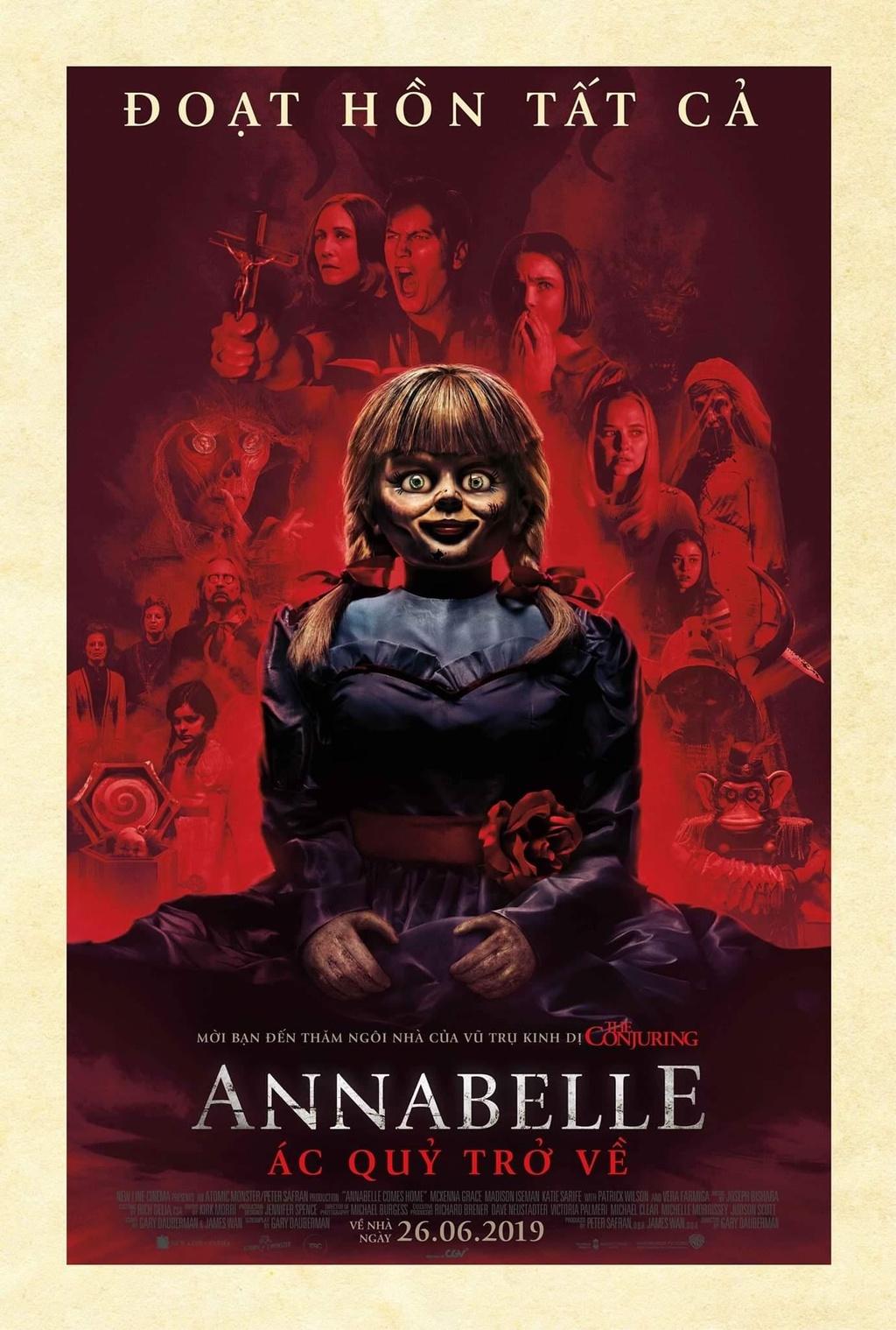 'Annabelle Comes Home': Ma quy nan gan nguoi xem, khan phong run ray hinh anh 1