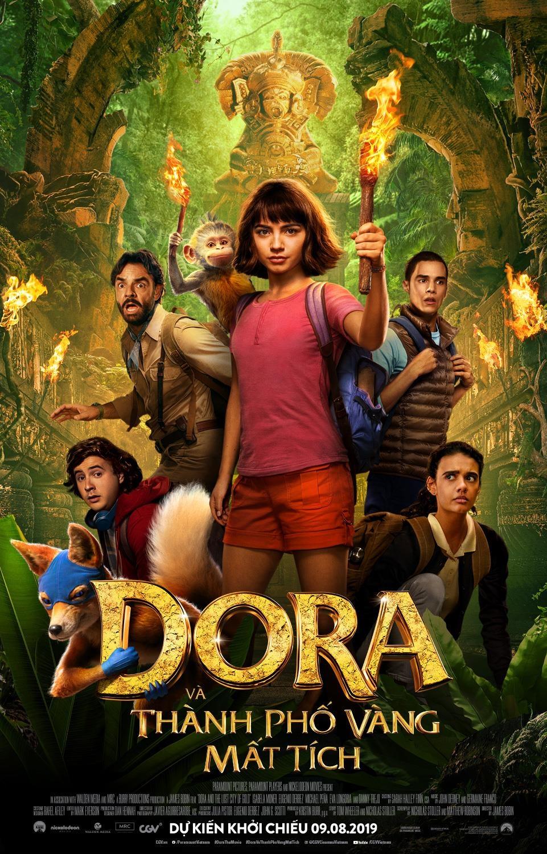 My nhan 18 tuoi toa sang trong 'Dora va thanh pho Vang mat tich' hinh anh 1