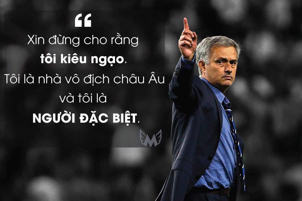 Nhung phat ngon khac nguoi cua Jose Mourinho hinh anh 1