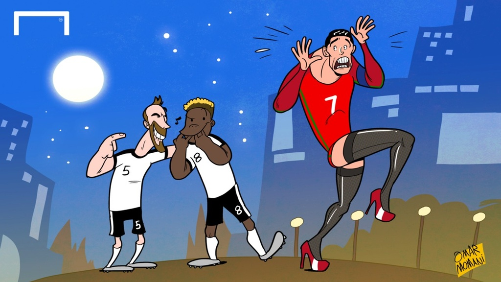 Hanh trinh Euro 2016 qua tranh biem hoa hinh anh 9
