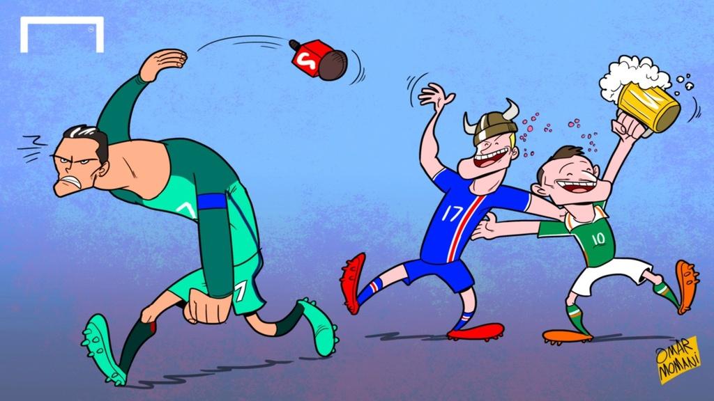 Hanh trinh Euro 2016 qua tranh biem hoa hinh anh 12