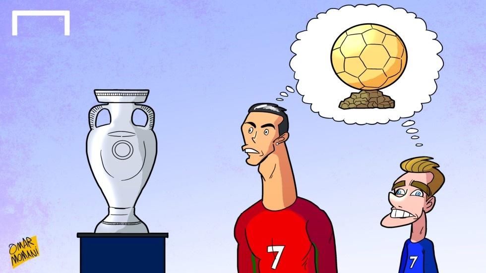 Hanh trinh Euro 2016 qua tranh biem hoa hinh anh 19