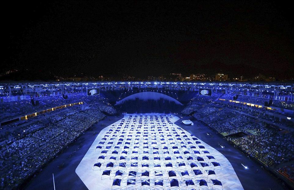 Khai mac Olympics Rio anh 2