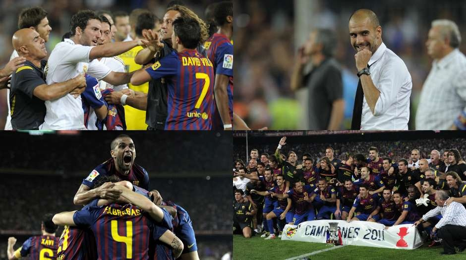 16 cuoc chien nay lua giua Guardiola vs Mourinho hinh anh 11