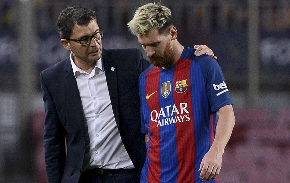 Messi chan thuong, Barca de Atletico cam hoa tai Nou Camp hinh anh 8