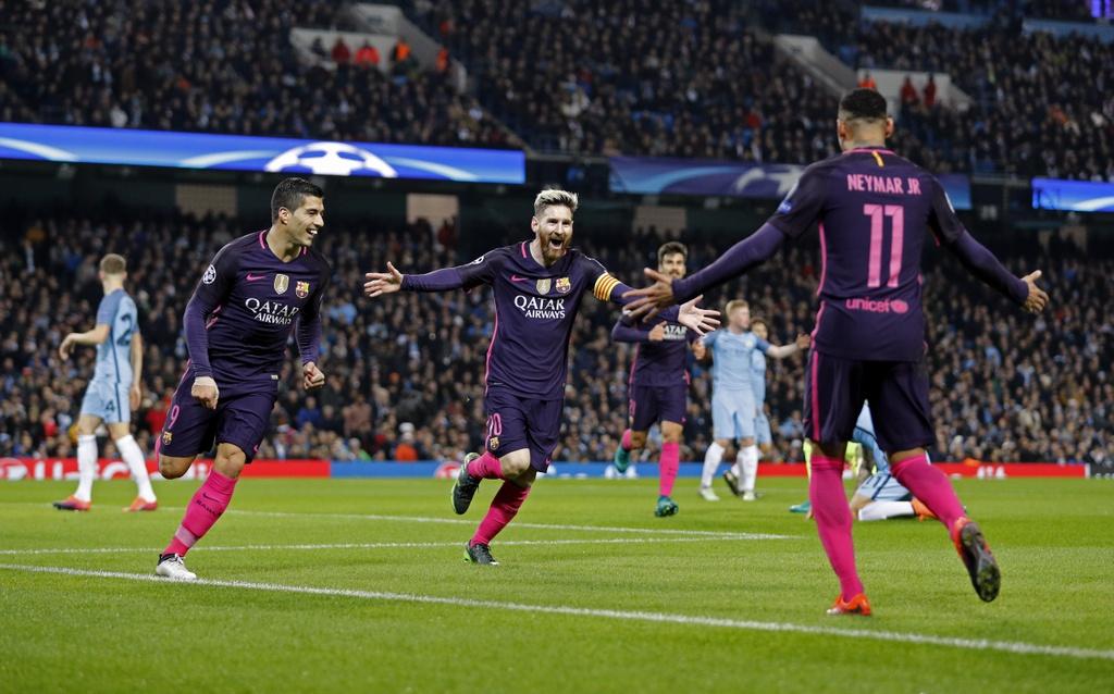 Messi mo ty so, Barca van thua nguoc 1-3 Man City hinh anh 4