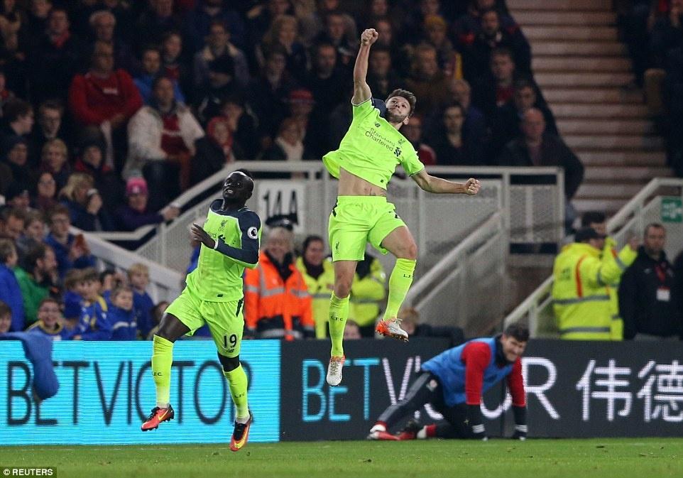 Liverpool tro lai vi tri thu 2 anh 5