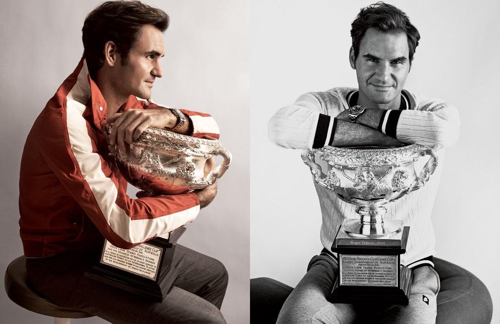 Federer xuat hien goi cam tren tap chi thoi trang hinh anh 6
