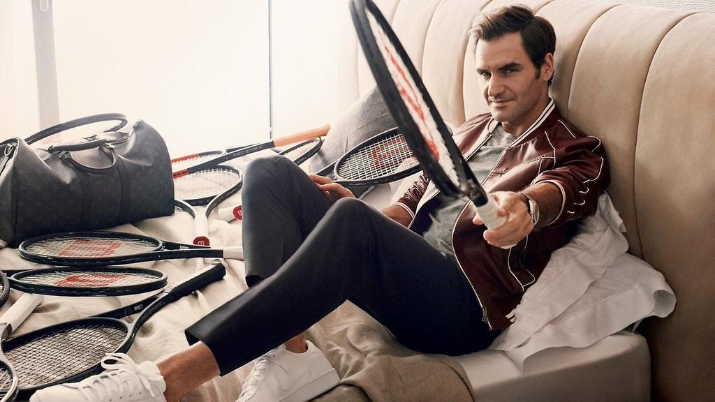 Federer xuat hien goi cam tren tap chi thoi trang hinh anh 2