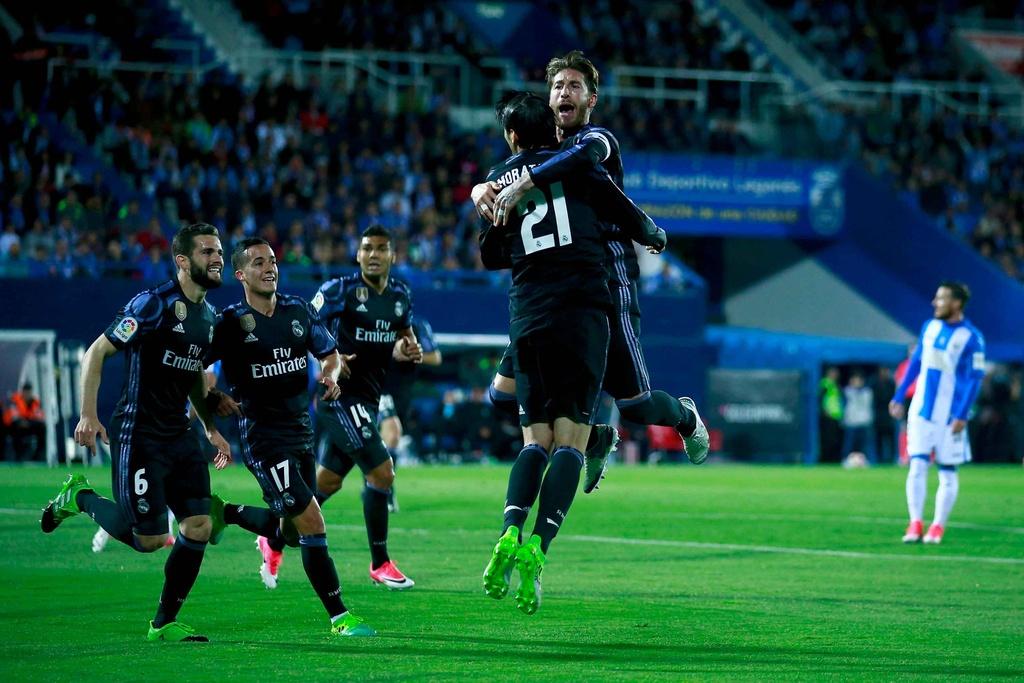 Morata lap hat-trick, Real chua cho Barca co hoi soan ngoi hinh anh 4
