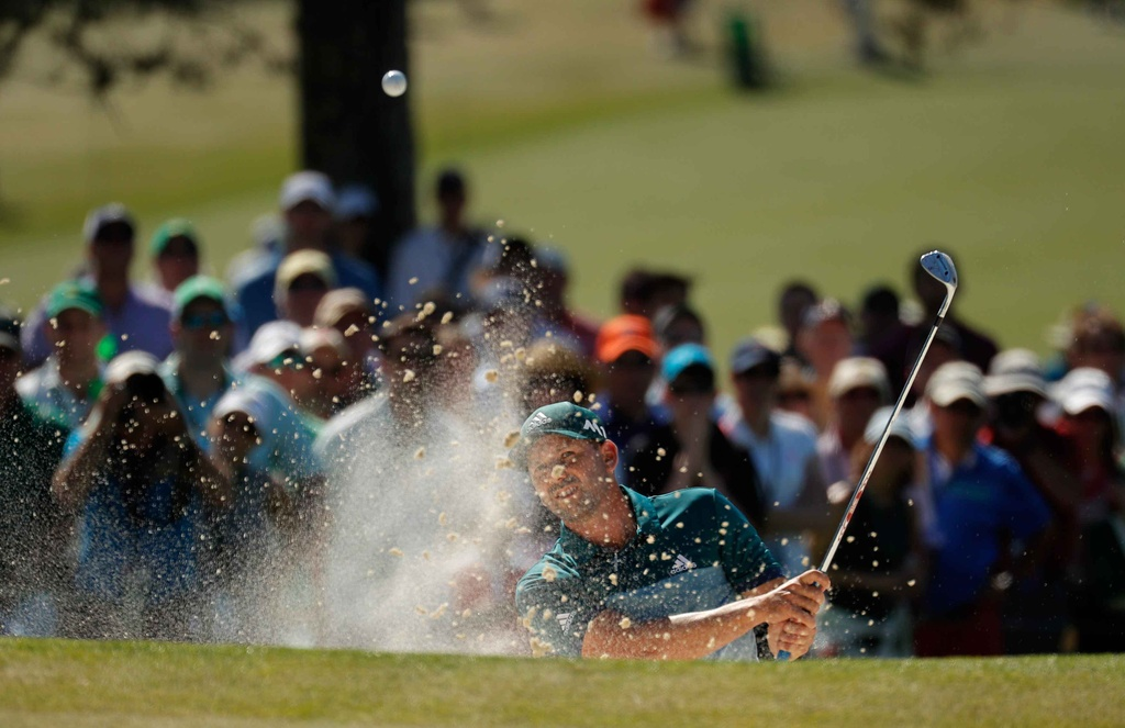 Thang play-off, Sergio Garcia vo dich The Masters hinh anh 5