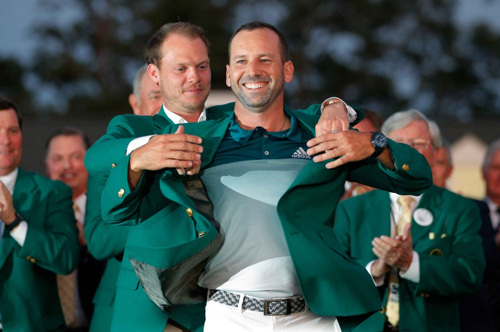 Thang play-off, Sergio Garcia vo dich The Masters hinh anh 13